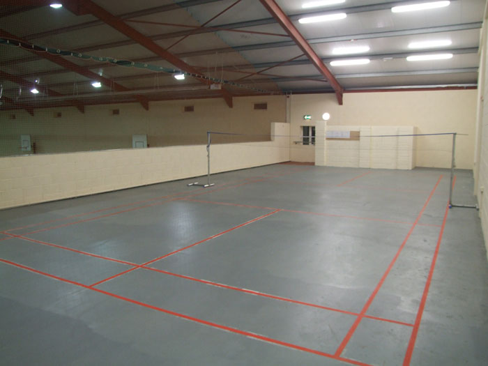 Badminton Playing Area